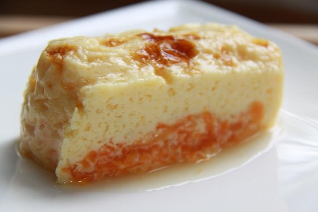 Диетическая творорожно-морковная запеканка с сыром филадельфия. И 163 ккал в 1/6 порции запеканки :-)