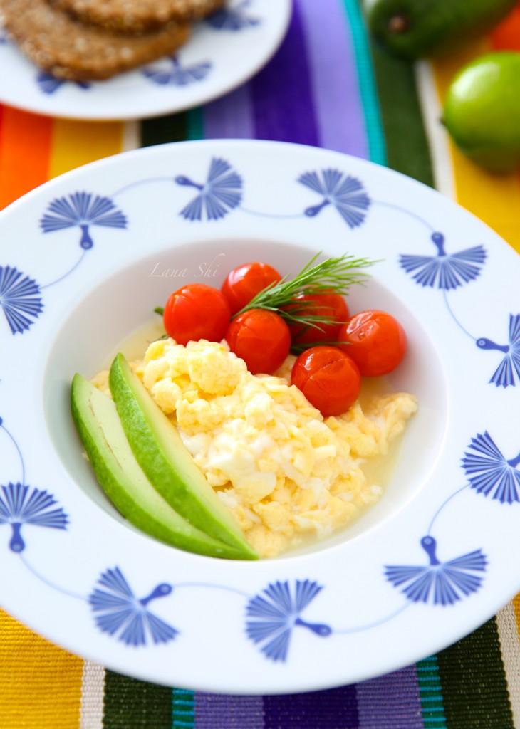 Как приготовить яйца-скрэмбл? Идеальный завтрак с scramble-eggs!